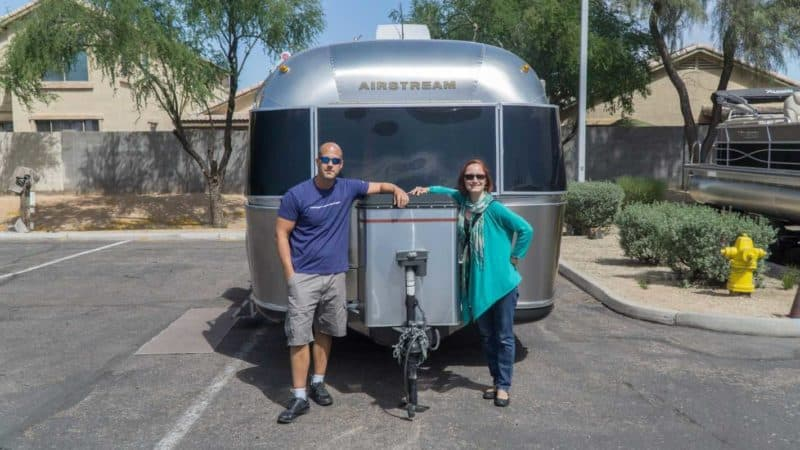 """We are not rich. We are not powerful. In fact, we don't even consider ourselves to be """"smart cookies"""". Instead, we saved. We downsized. We sold both of our homes and moved into an Airstream that we've named Charlie. Early retirement is possible."""