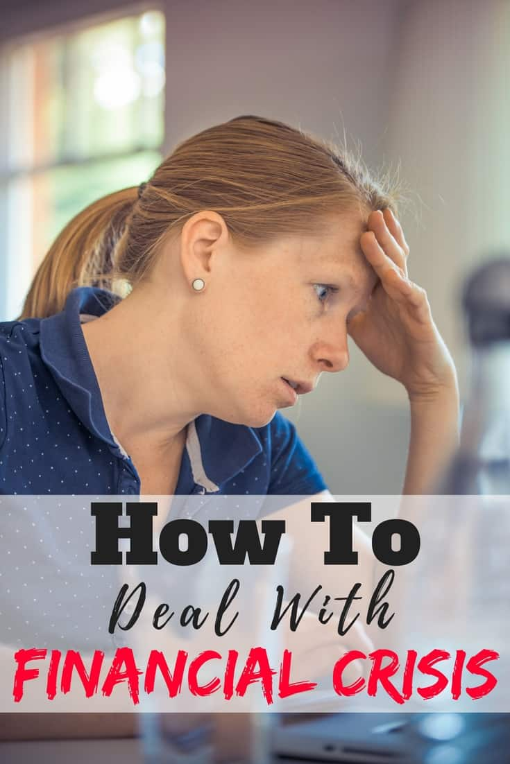 Dealing with a financial crisis the correct way is so important in keeping yourself out of debt. These are the steps you should take to keep your personal finance afloat in a crisis. Debt   Finance   Tips   Advice   How to