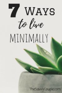 7 ways that will inspire you to become a minimalist. Minimalism is not about what you own, it's about why you own it. Once you need less. You will have more. Minimal   Minimalist Lifestyle   Zen   The Savvy Couple