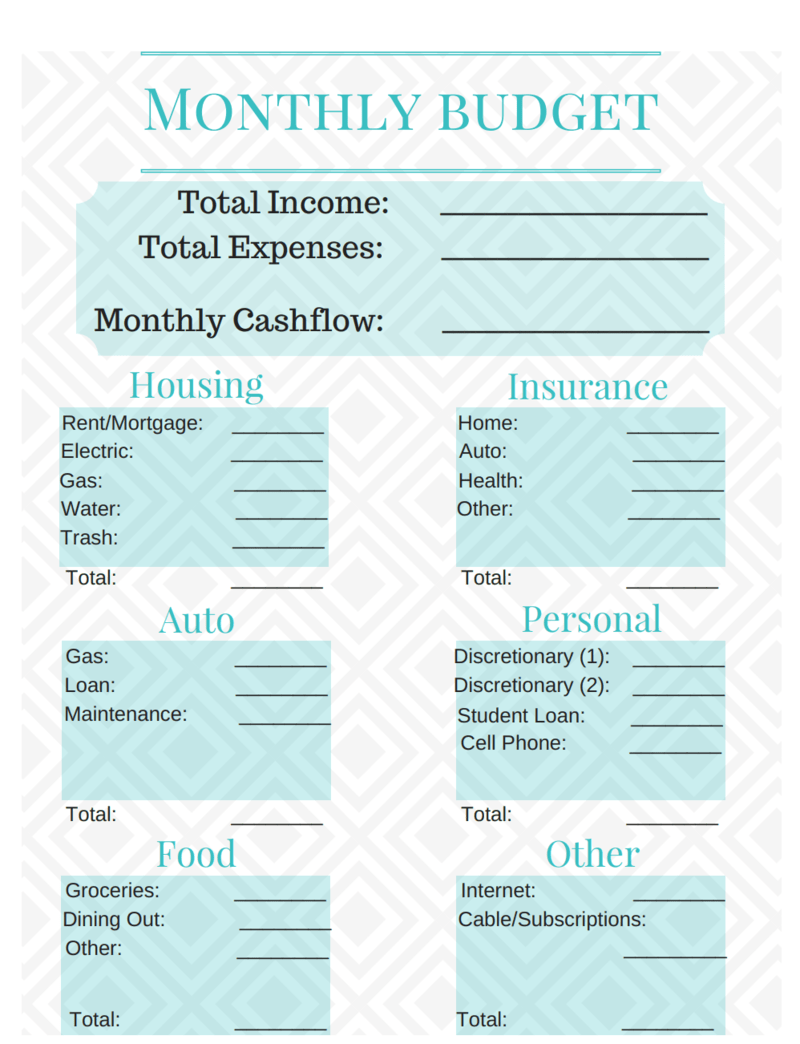 10 Life Changing Budget Templates To Help You Organize Your Finances