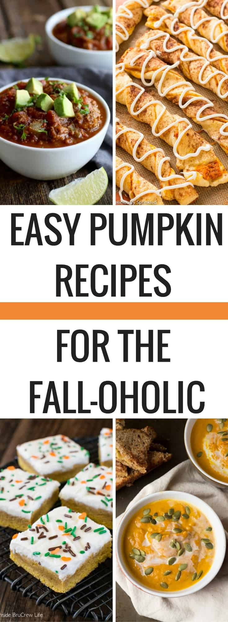 If pumpkin is not on your shopping list this week, get it there now! 10 easy pumpkin recipes that you need to try this fall. This fall recipe round-up is critical to read before your next shopping trip! Pumpkin ingredients are so healthy and an inexpensive to cook with. From slow-cooker to over-night oats, we have your pumpkin craving covered this fall! Easy pumpkin recipes | Pumpkin Spice | Fall Recipes | Slow-Cooker | Budget Meals |