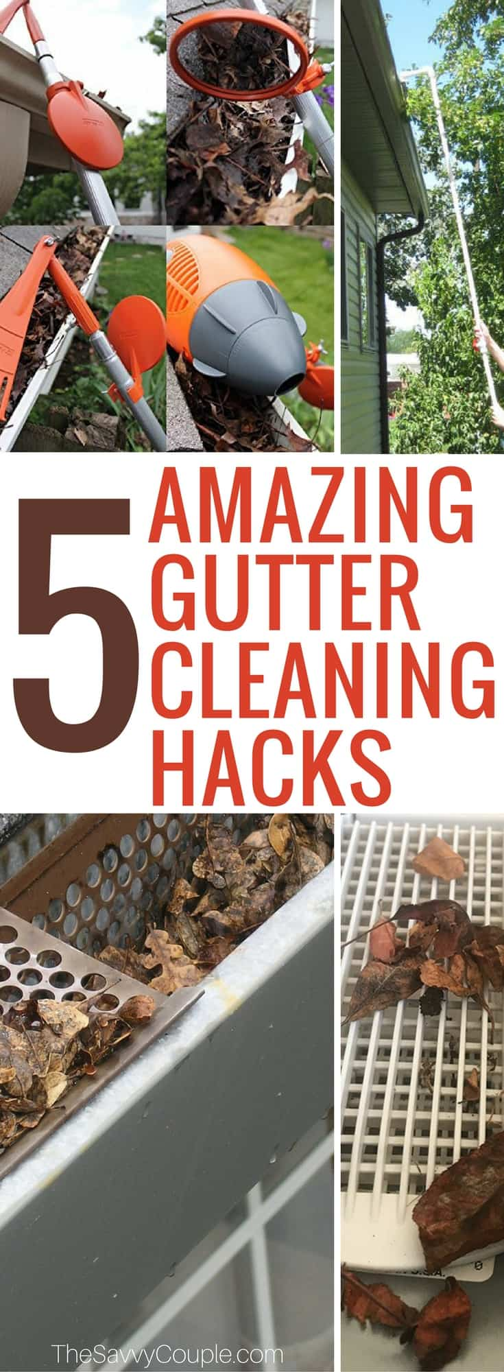 5 Gutter Cleaning Hacks That You Wish You Knew Sooner