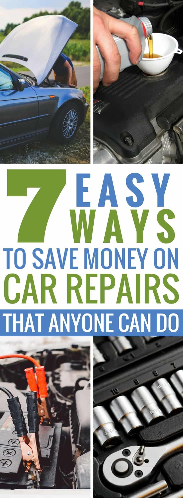 This list has some incredible tips on saving money at the auto repair shop. They are so easy to follow anyone can do them. #7 has saved us thousands! #CarRepairs #AutoShop #CarMaintenance #CarFixes #AutoRepairs #OilChanges