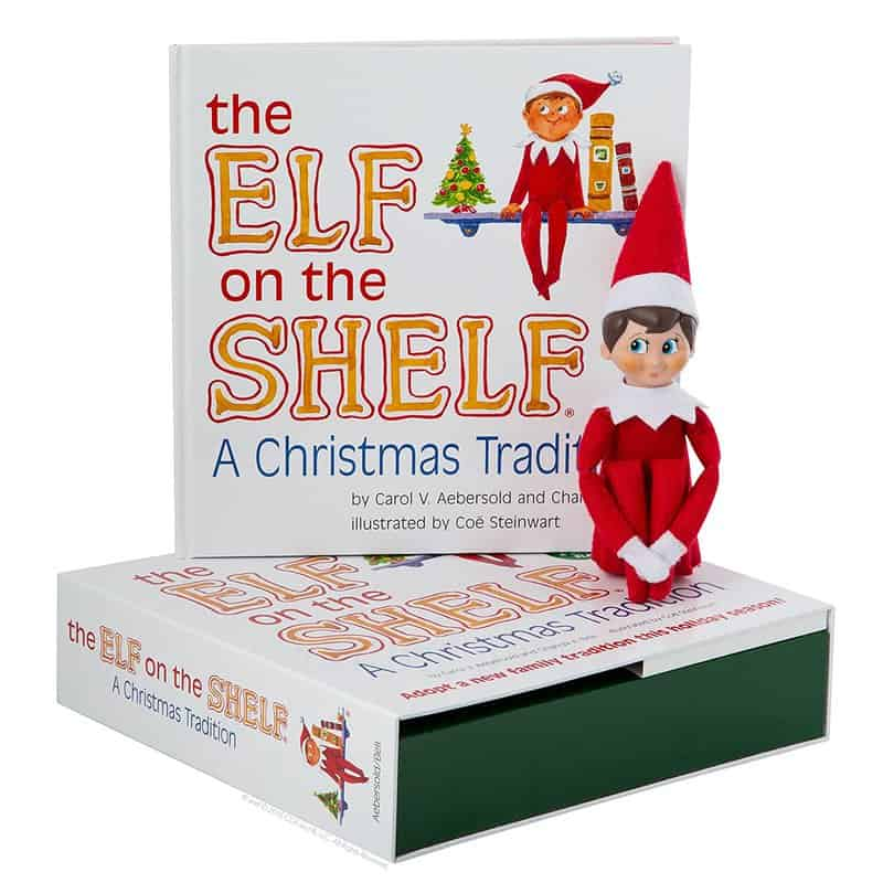 elf on a shelf kit with elf and book