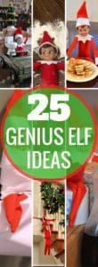 BEST Elf On The Shelf Ideas! Creative, fun, arrival ideas, and ideas for moving your Christmas Elf. Holiday activities for kids. Over a month of Elf ideas! | Elf on a shelf | Christmas Traditions | Elf activities | Naughty Elf | Holiday Season | Christmas ideas