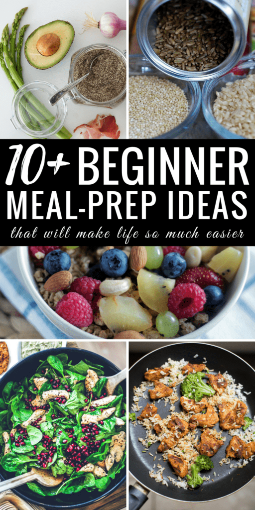 This is the BEST article I have read for meal prepping! I have always been nervous about meal prepping for the week. It's so time-consuming! After reading this article, I cannot wait to start planning out my meals and prepping my daily meal containers. My weeks just got easier! Pin this!