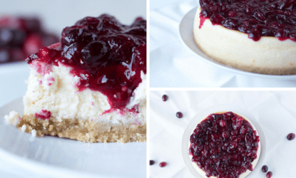 goat cheese cranberry cheesecake