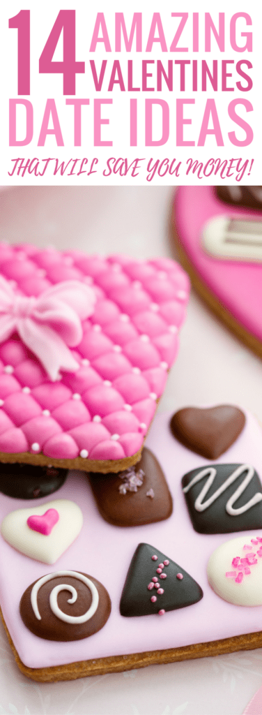 So excited to celebrate Valentine's day this year! This article has some AMAZING Fun, Flirty, Cute and Sexy Valentine's Day date Ideas to make your Valentine's Day easy and smoking HOT! The best part is they are super cheap and affordable! You should Pin this for later!