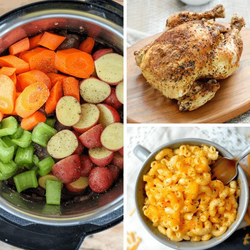 image grid of foods