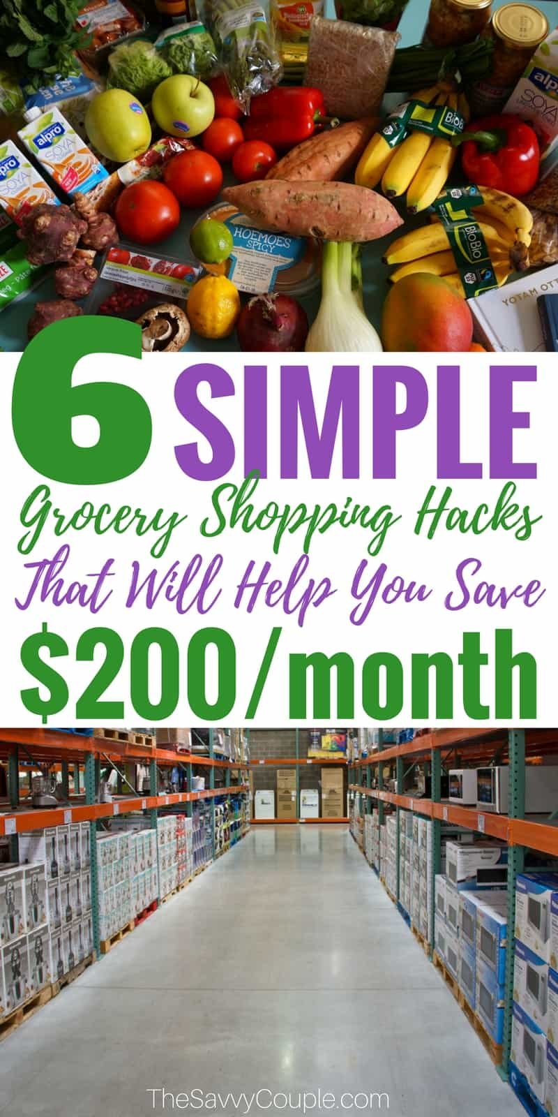 These ways to save money on your grocery budget are GENIUS! I am so glad I found these to help me SAVE MONEY and CUT SPENDING. My grocery spending went down over $100 per month after following these tips! Pin this! #GroceryShopping #MealPlanning #SaveMoney #Family #Budget