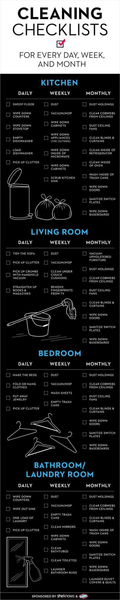 These house cleaning hacks are AMAZING! I am so glad I found these to help me ORGANIZE and CLEAN my entire home. With spring around the corner, this list is perfect! Pin this for later!