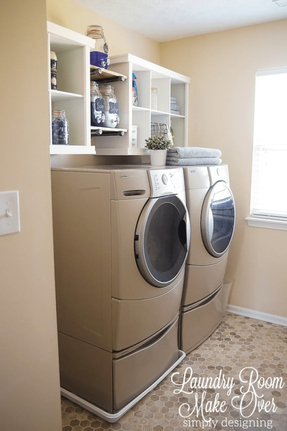 These 10 laundry room ideas are THE BEST! I'm so glad I found these AMAZING tips! Now I have great ways to keep my laundry room organized and redefined! These are going to make doing laundry so much easier. Pin this for later!