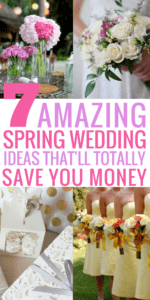 These spring wedding ideas are absolutely AMAZING! I love how the article shows you how you can have your dream wedding on a BUDGET. From spring wedding dresses, bridesmaids, colors, venue, flowers, cake, photo booth, and more they cover it all! So pinning this for later!