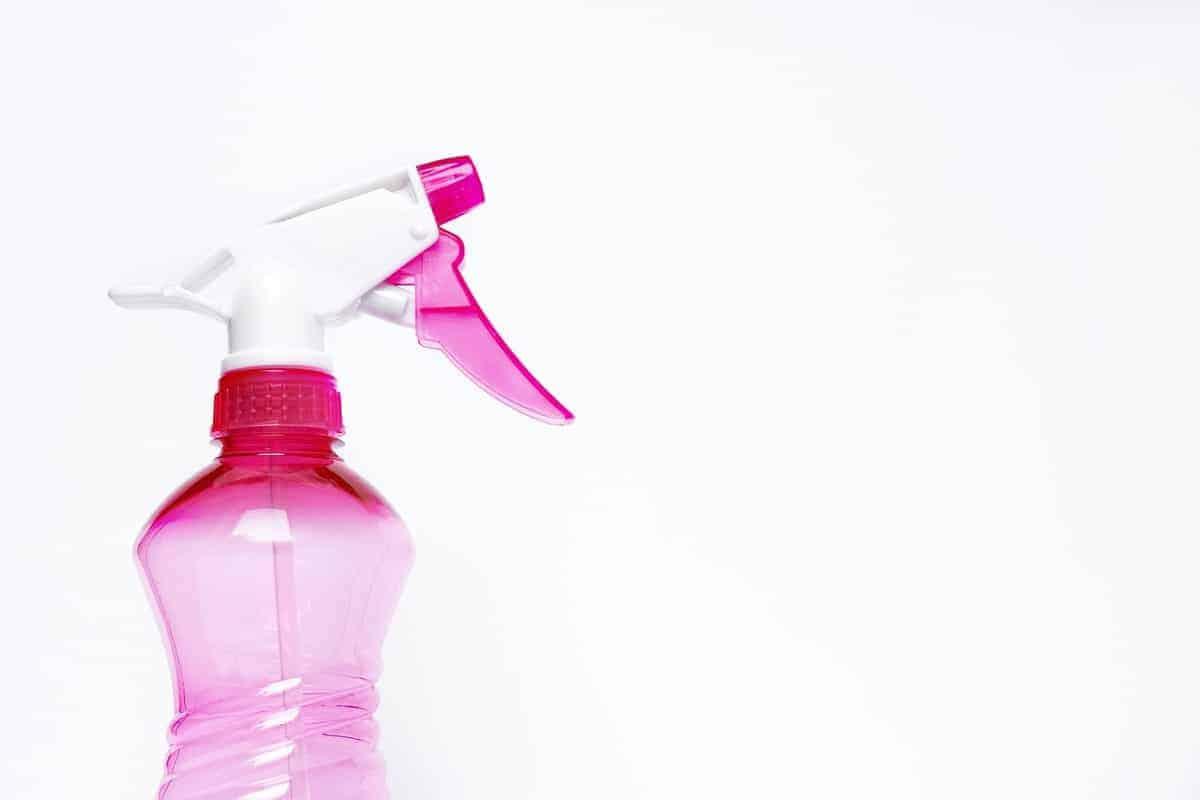 pink spray bottle