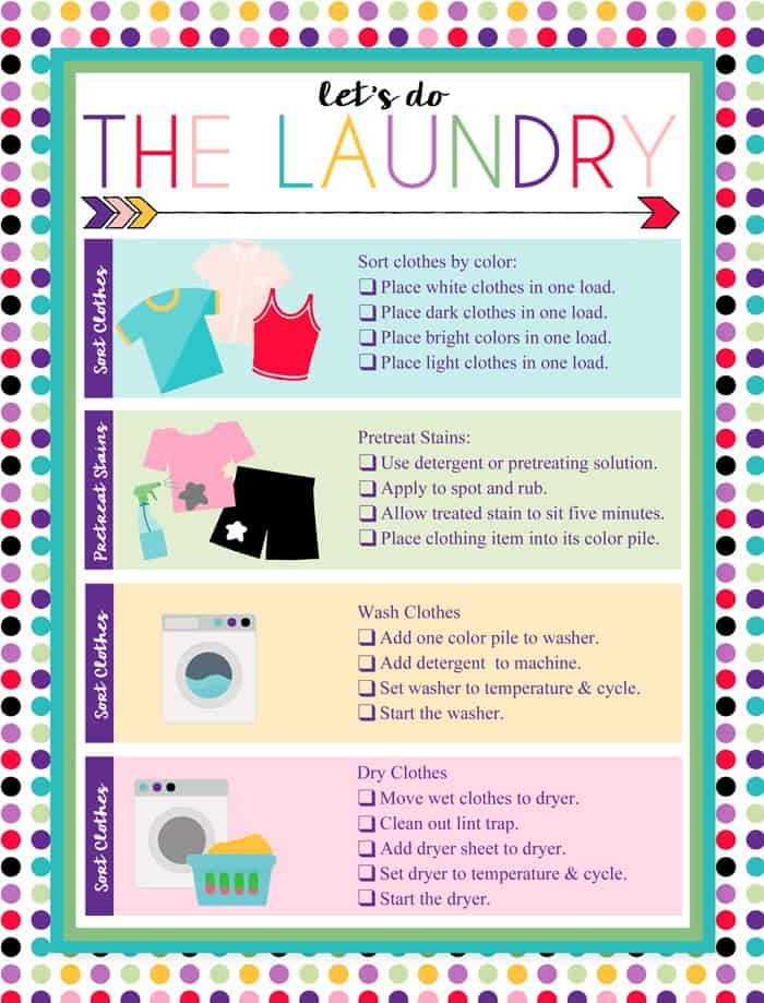 These 10 laundry room hacks are THE BEST! I'm so glad I found these AMAZING tips! Now I have great tips to keep my laundry clean and stain free! Not only will these help me save time & money they will make doing laundry so much easier. You gotta pin this!