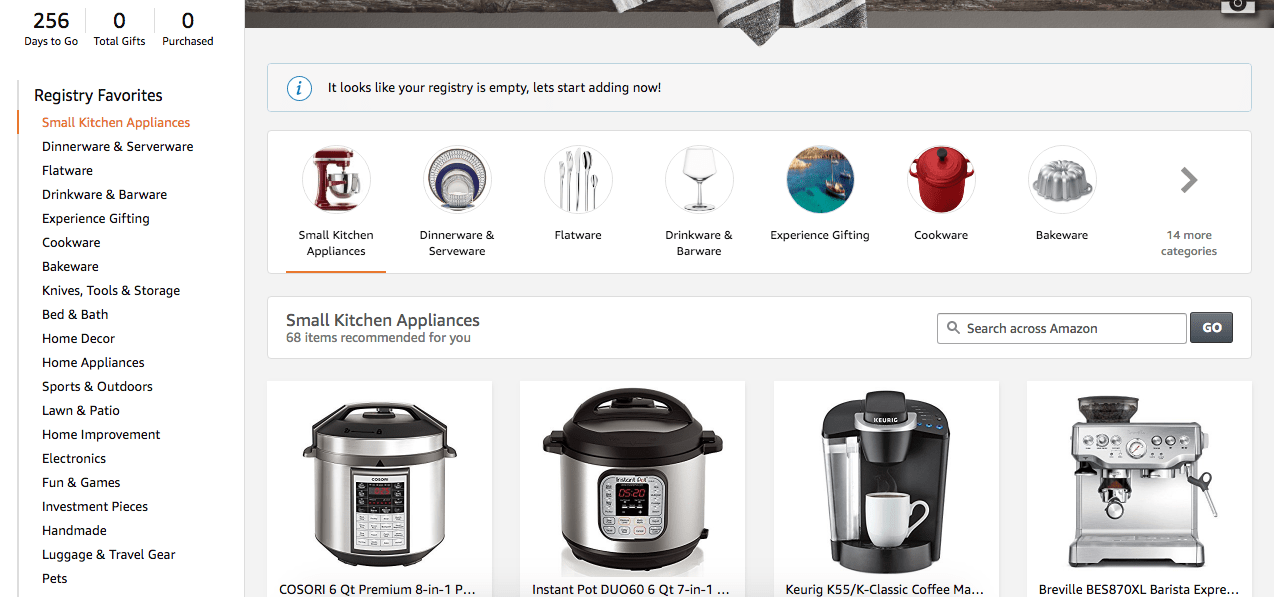 Best Wedding Registry Items.How To Create The Ultimate Amazon Wedding Registry The Savvy Couple