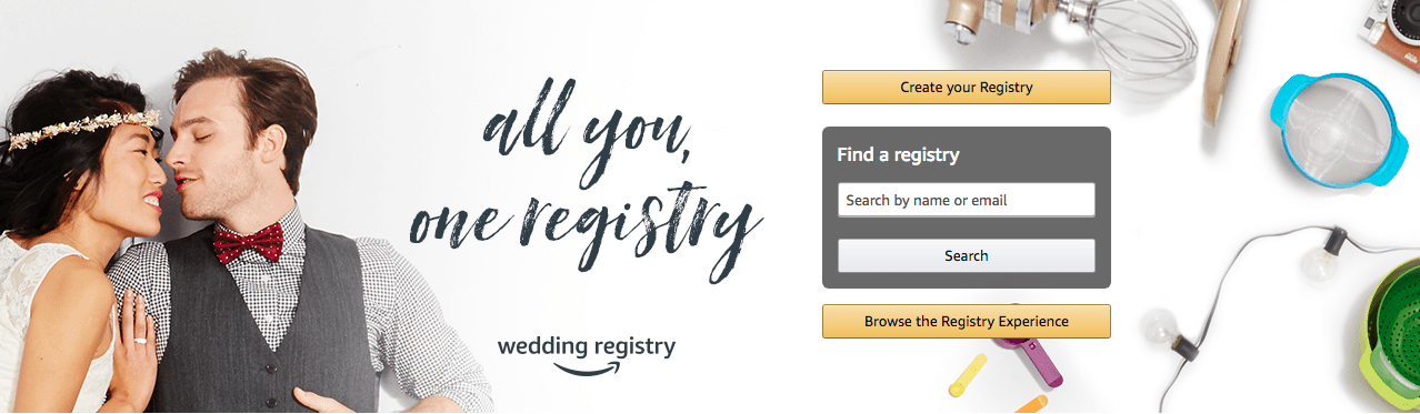 How To Create The Ultimate Amazon Wedding Registry