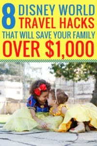 This article is packed full of AMAZING Disney vacation hacks that helped us save a ton of money! Going on vacation with your family can be expensive, especially going to Disney World. I am so glad I read this article it saved us o
