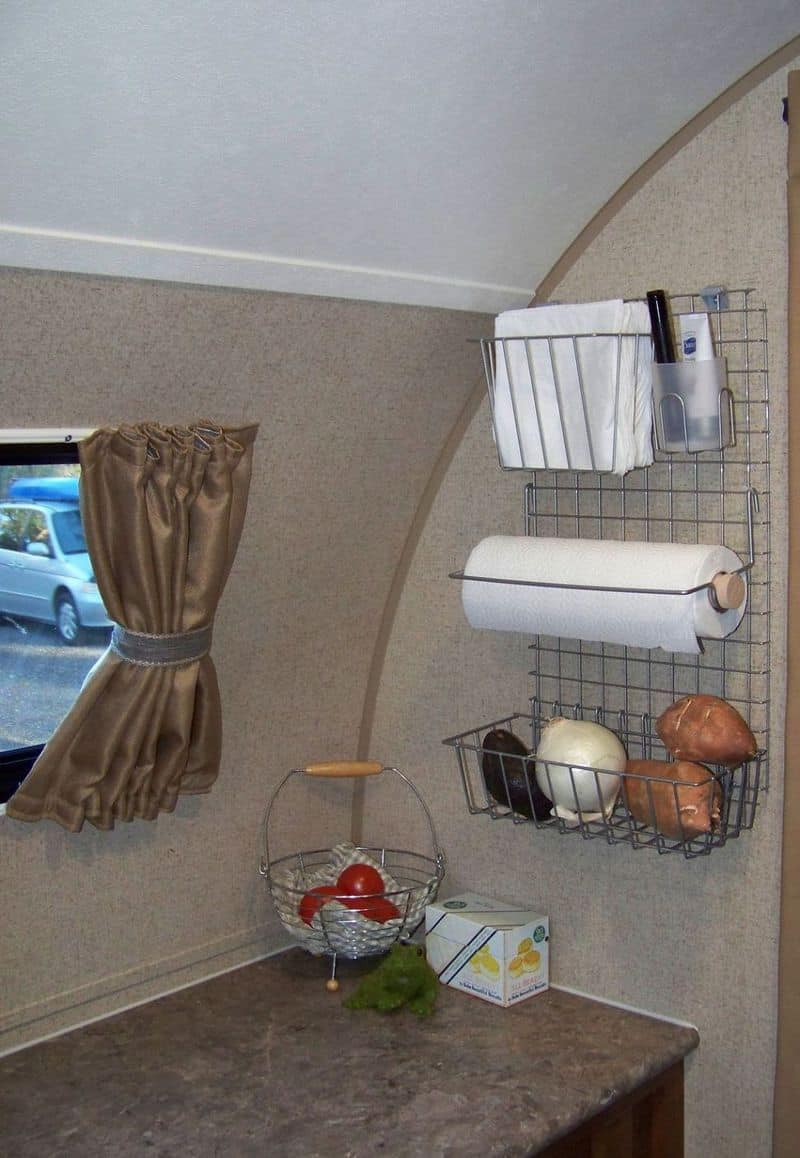13 Camping Storage Ideas That Will Make You A Happy Camper