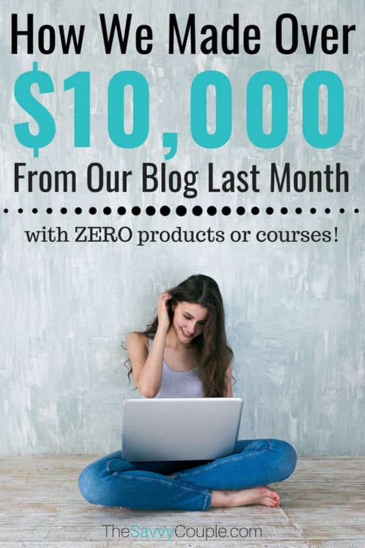 Find out how I made $11,358 blogging last month without having to work over 40/hrs in a week. In this ultimate blog income report, I walk you through every step we took last month to grow our blog and reach the five-figure club in a single month. This is worth reading! #BloggingTips #BloggingTricks #IncomeReport #BlogTopics #BloggingNiches #MakeMoney #WorkFromHome #SAHM #SideHustle