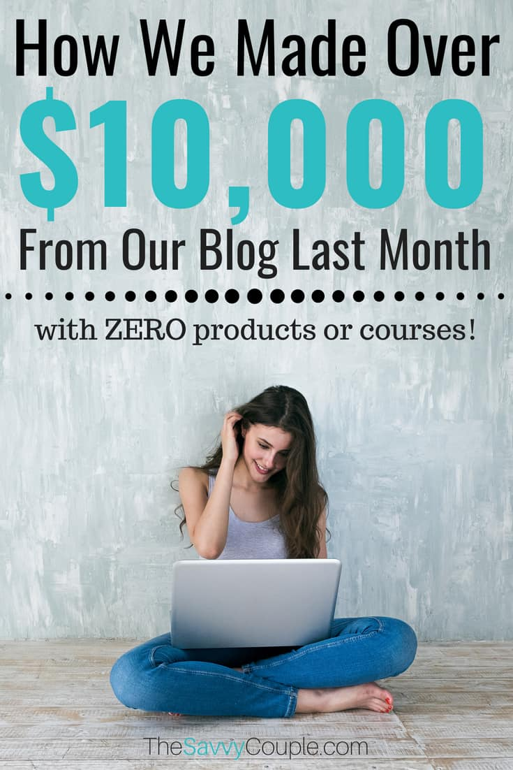 Find out how I made $11,358 blogging last month without having to work over 40/hrs in a week. In this epic blogging income report, I walk you through every step I took to grow our blog and reach the five-figure club in a single month. This is worth reading! #BloggingTips #BloggingTricks #IncomeReport #BlogTopics #BloggingNiches #MakeMoney #WorkFromHome #SAHM #SideHustle