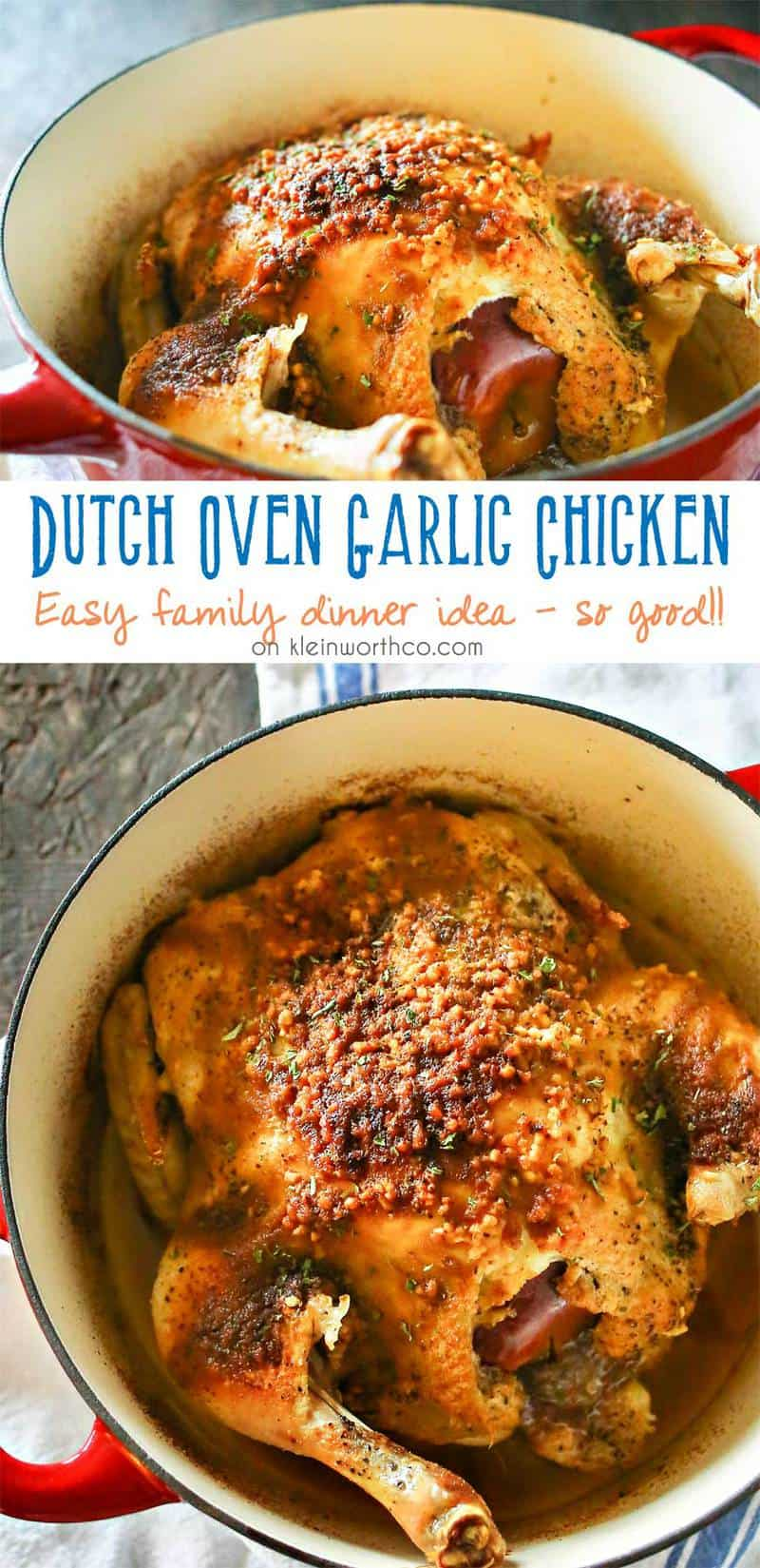 These 25 Dutch Oven Recipes are THE BEST! I'm so glad I found these AMAZING simple skillet recipes! Now whether camping or needing a recipe for a summer night I have this list to come back to. Pin this for later! #camping #skillet #dinner #campfire #onepot #castiron #healthy #dessert #chicken #beef