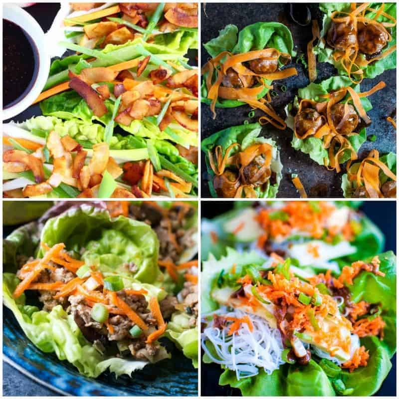thumbnails of lettuce wraps