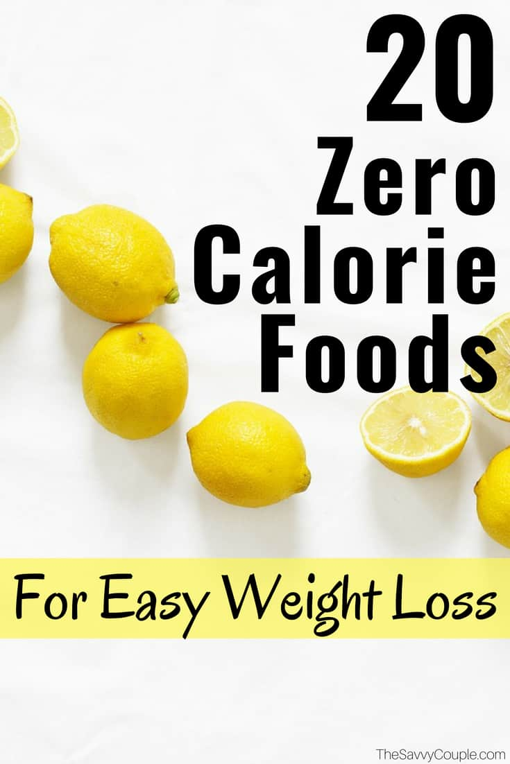 20 Zero Calorie Foods That Will Make You Lose Weight