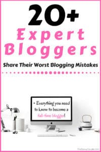 20+ Expert Bloggers Share Their Worst Blogging Mistakes