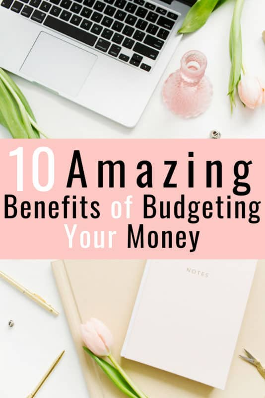 Wow, I never knew budgeting your money had so many benefits. I am so excited to start a budget and learn how to control my money better for my family. Now I will be able to track our spending, saving money, pay off our debt faster, and stop arguing over our finances all the time. Totally pin this! #Budget #Budgeting #Family #Finance #Marriage #Tips #Worksheets #Binder #Printable #DaveRamsey #Monthly