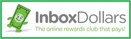 inbox dollars logo with tagline the only rewards club that pays