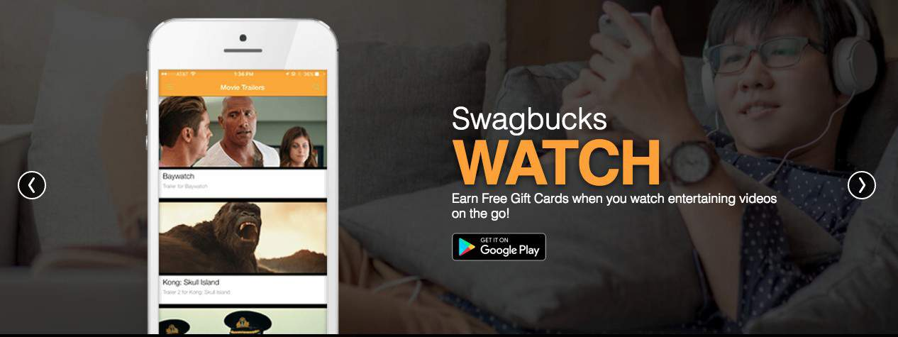 Earn extra money using swagbucks watch