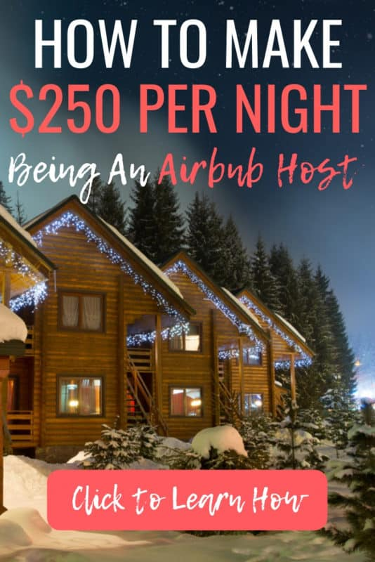 I never knew you could rent out a spare room and make so much money! I am so excited to become an Airbnb host and start making additional income each month. This is perfect to do around the holidays! #Airbnb #Sidehustle #Host #Spareroom #ExtraIncome #ExtraMoney #Holidays #Christmas