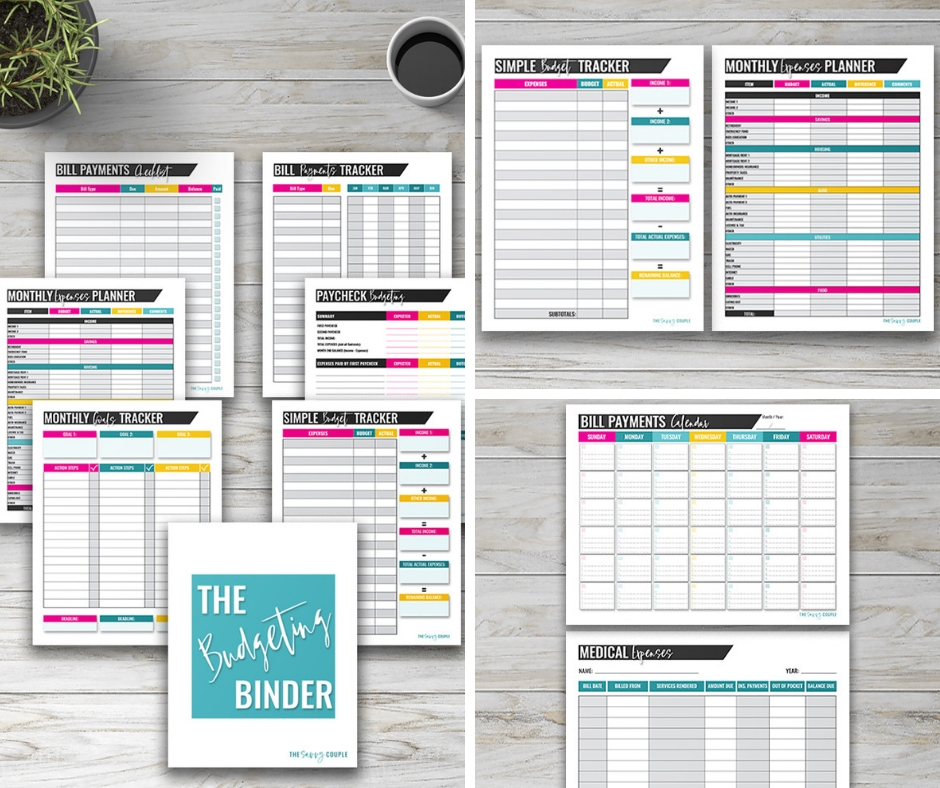 picture relating to Life Binder Printables named The Best 2019 Spending budget Binder That Will Distinction Your Everyday living