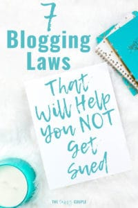 This is definitely the comprehensive guide I needed to make sure my blog isn't breaking any laws! Everything you needs to know to make your blog legal and stay out of trouble. I'm so relieved to have found this; I definitely need to pin it to refer back to! #BloggingTips #BloggingAdvice #BloggingLaws #BloggingLegally #Blogging #BlogLaws #BloggingTaxes