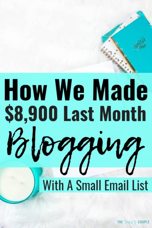 Making money with a blog can be difficult. But when you start focusing your time on the right things you can see great growth. I love The Savvy Couple's income reports as they are always super transparent and helpful. I am so excited to grow my blog this year with some of the strategies I learned in their latest income report. #Blog #BloggingIncome #MakeMoney #MakingMoneyOnline #Marketing #IncomeReport