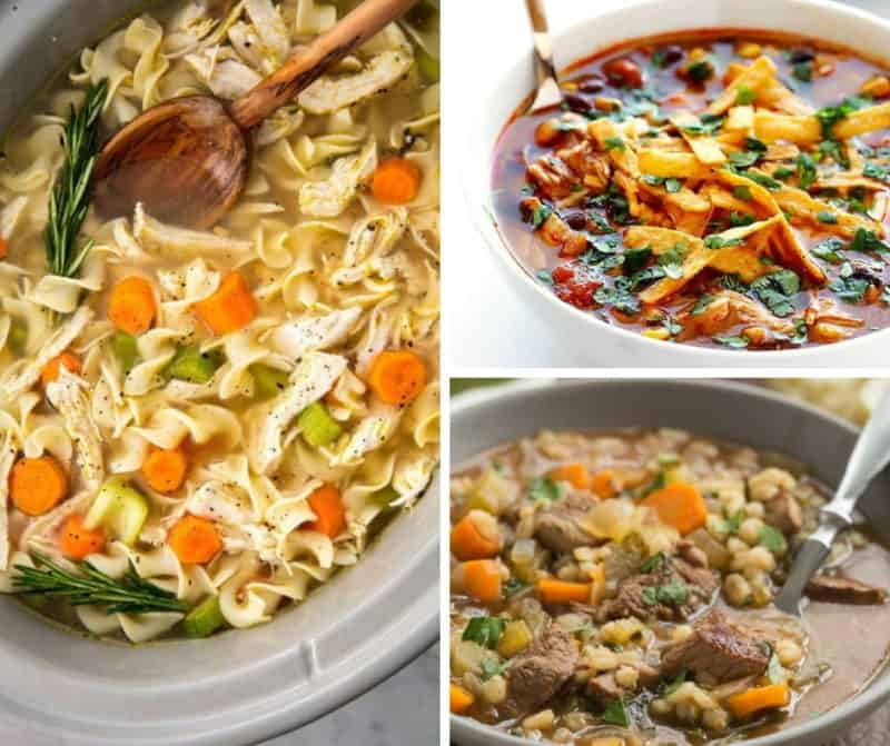 Easy Crockpot Soups