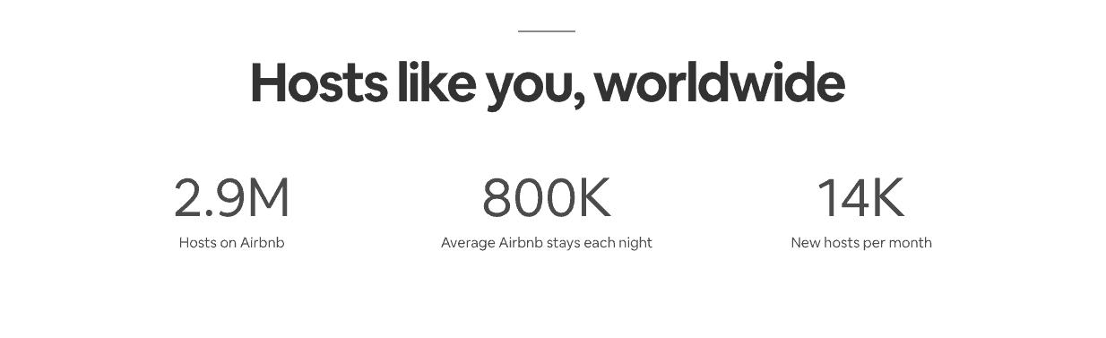 airbnb host statistics