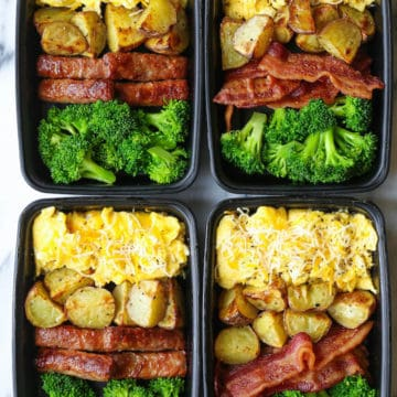 breakfast meal prep idea
