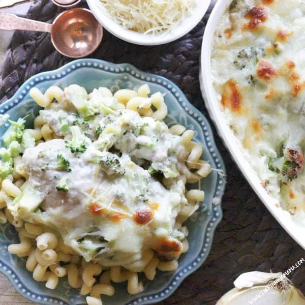broccoli alfredo chicken bake cheap dinner ideas with chicken