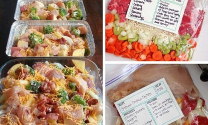 25+ Easy Freezer Meal Recipes that Your Entire Family Will Love