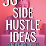Wow these side hustle ideas are AMAZING! So many incredible options that I know are proven to actually help you make money on the side. I am so excited to get started earning extra money in my spare time. #SideHustle #SideHustleIdeas #WorkFromHome #ExtraIncome #MakeExtraMoney