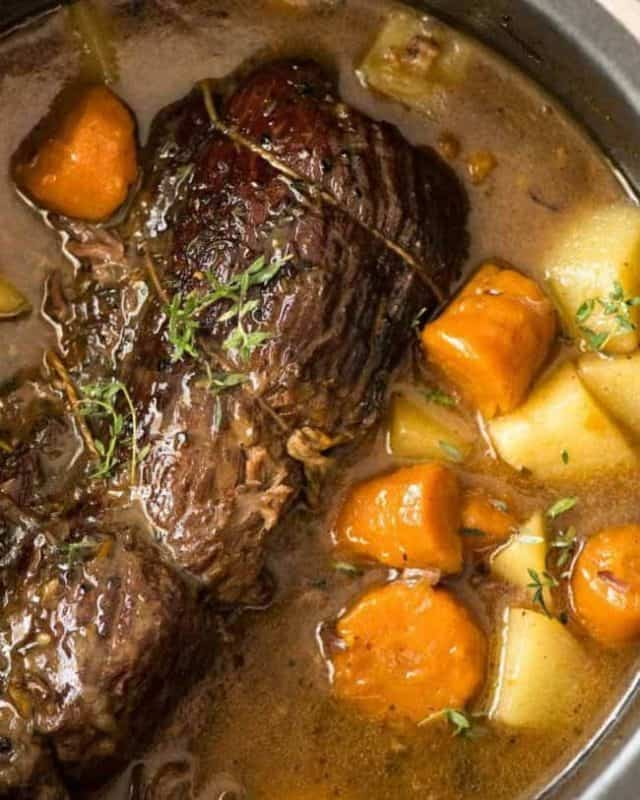 slow cooker beef pot roast cheap meal ideas for families