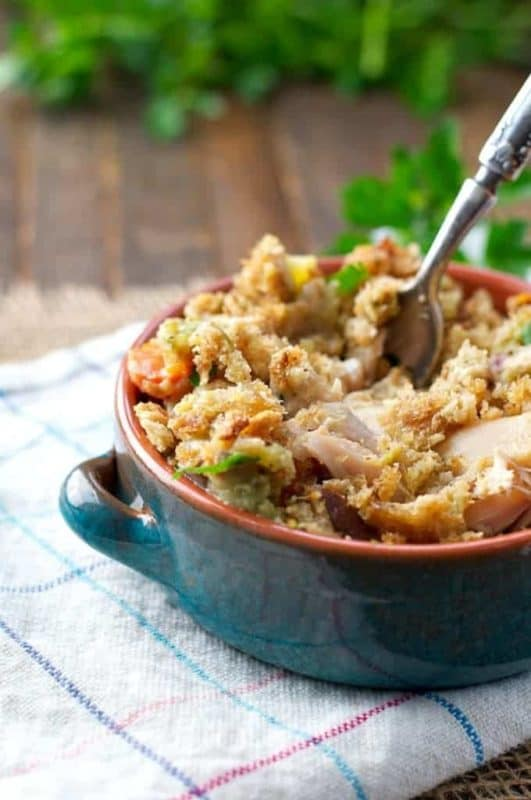slow cooker chicken and stuffing cheap dinner ideas recipe