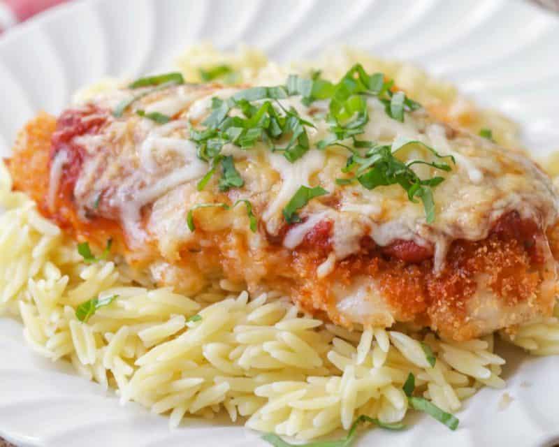 cheap dinner ideas baked chicken parmesan