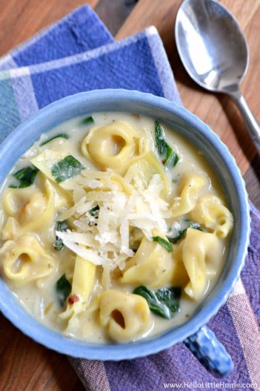 creamy spinach artichoke soup cheap meal ideas without meat