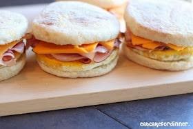 homemade freezer breakfast sandwiches easy freezer meals