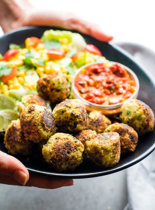 mexican falafel bites cheap dinner ideas without meat