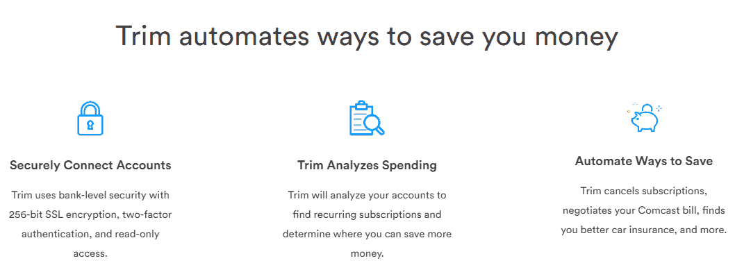 Trim automates how you can save money