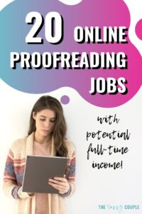 I have been looking everywhere for a legitimate stay at home mom job. Finally!!! I am so excited to get started making money from home as a proofreader. Having extra money to help with our budget each month is going to be lifesaving. Check out this awesome article to learn how to get started making money from home as a proofreader. Read this! #MakeMoney #WorkFromHome #SAHM #ProofreadingJobs #ProofreadingJobsForBeginners #MakeMoneyProofreading